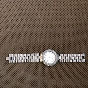 Marc jacobs stainless steel watch